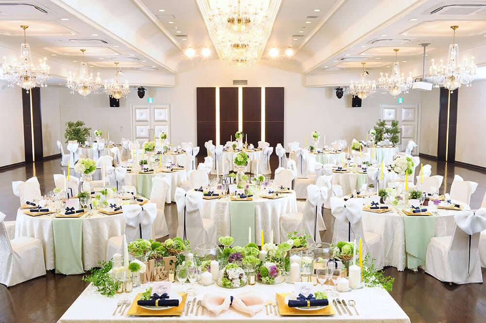 高知県南国市の結婚式場 THE MINUTES(ザ・ミーニッツ) パーティー会場 光琳2