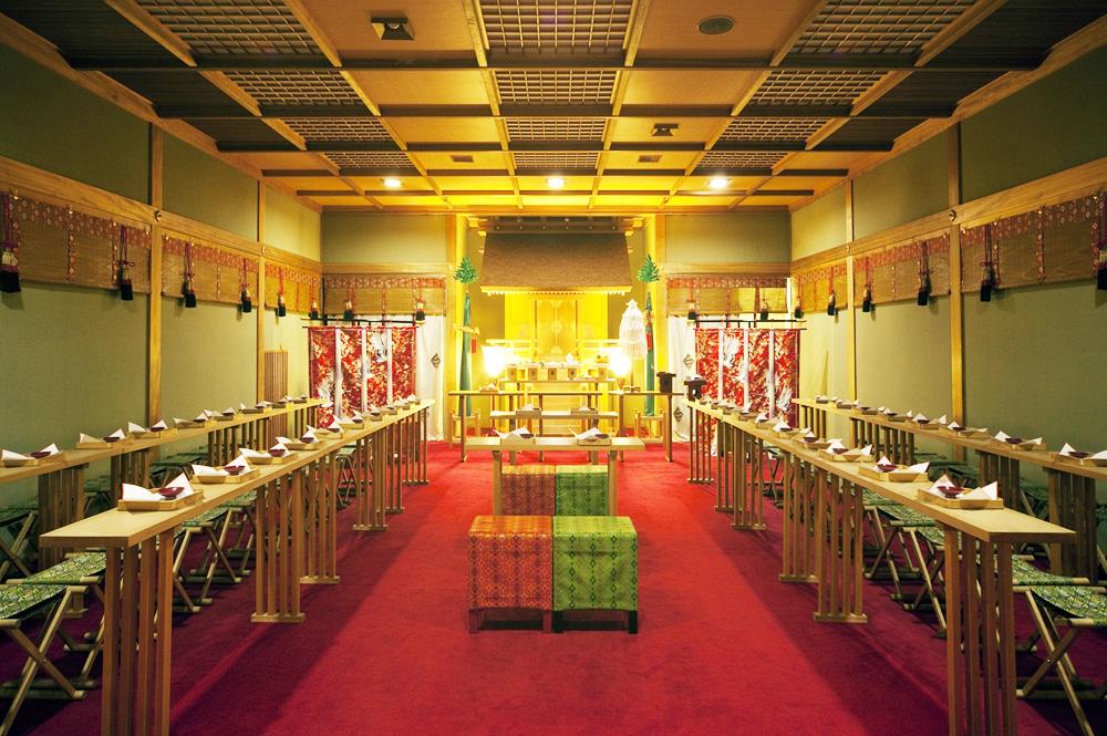 高知県南国市の結婚式場 THE MINUTES 神式挙式 神前式2