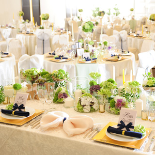 高知県南国市の結婚式場 パーティー会場光琳
