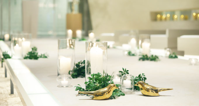 高知県南国市の結婚式場 THE MINUTES(ザ・ミーニッツ)のチャペル2
