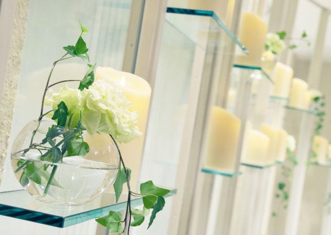 高知県南国市の結婚式場 THE MINUTES(ザ・ミーニッツ)のチャペル3