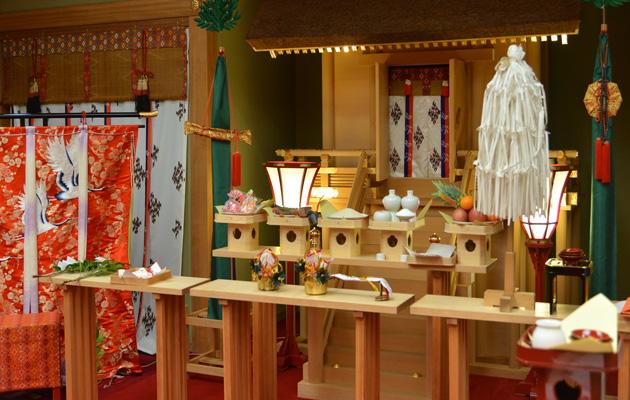 高知県南国市の結婚式場 THE MINUTES 神式挙式 神前式3