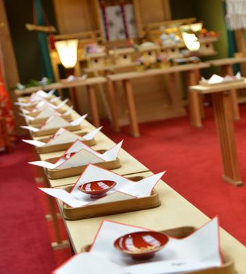 高知県南国市の結婚式場 THE MINUTES 神式挙式 神前式